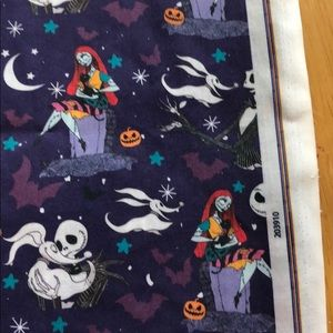 "Fabric Other - Copy: Nightmare Before Christmas 18""x22"" fabric"